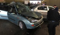 Başkent'te 9 Araç Birbirine Girdi Açıklaması 10 Yaralı