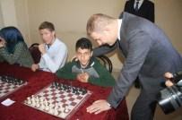 HÜSEYIN GÖKTÜRK - Hasköy'de Satranç Turnuvası Yapıldı