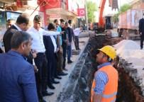 NİHAT ÇİFTÇİ - Büyükşehir Hilvan'ın Alt Yapı Sorununu Çözüyor