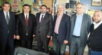 NEBIOĞLU - Karsesob Başkanı Burulday Ve Oda Başkanlarından Başkan Daşdelen'e Tebrik Ziyareti