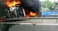 AHMET KESKIN - TEM'de Kaza Açıklaması 1 Ölü, 4 Yaralı