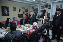 BILGE AKTAŞ - Engelli Kamu Personel Seçme Sınavına Katılacak Kursiyerlere Moral Kahvaltısı
