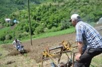 Yüzde 70 eğimli arazide tarım yaptılar