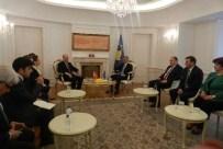 KOSOVA MECLİS BAŞKANI - Başbakan Yardımcısı Kurtulmuş, Kosova Cumhurbaşkanı Thaçi'yle Görüştü
