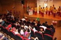 EĞLENCE FUARI - Dünya Çocuklarından KOÜ'de Yatan Çocuklara Sürpriz Eğlende