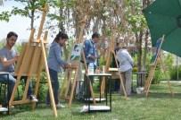 KARKıN - Öğretmen Ve Akademisyenlerden Açık Havada Sanat Performansı