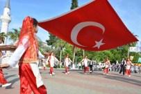 YÜZME YARIŞI - Ortaca'da Turizm Haftası Etkinliği