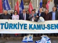 MAAŞ FARKI - Türkiye Kamu-Sen, Ek Gösterge Talebine İlişin Dilekçeleri Başbakanlığa Gönderdi