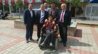 Gurbetçilerden Engelli Vatandaşa Akülü Araba