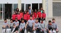 SAMI AYDıN - Minik Öğrenciler, Başkan Aydın'ı Ziyaret Etti