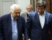 NURI PAKDIL - Başbakan Davutoğlu'nun kabulü