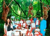 FARUK YALÇIN HAYVANAT BAHÇESİ - Gebze Belediyesi'nden Roman Çocuklara 23 Nisan Jesti