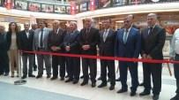 MEHMET KAVUK - Malatya'da Hüsn-Ü Hat, Tezhip Ve Minyatür Sergisi Açıldı