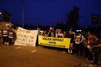 ÇERNOBİL - Antalya'da Çevrecilerden Nükleer Eylemi