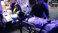 KAYINBİRADER - Öfkeli Enişte Kayınbiraderini Ve Arkadaşını Bıçakladı