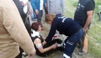 YENIMUHACIR - Önüne Çıkan Köpeğe Çarpmamak İçin Takla Attılar Açıklaması 1 Ölü