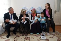 ÜÇÜZ BEBEK - 4 Çocuklu Aileye Üçüz Bebek Sürprizi