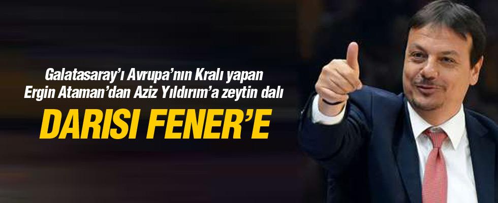 Ergin Ataman: Türk basketboluyla gurur duyuyorum