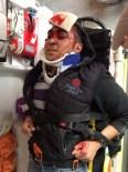 OSMAN BOYRAZ - Gürün'de Trafik Kazası Açıklaması 1 Yaralı