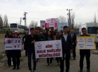 Ağrı'da 28 Nisan 'Sağlıkçıya Şiddete Hayır' Günü