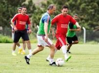 ORHAN ÖZDEMIR - Alima Yeni Malatyaspor Teknik Heyeti İle Basın Maç Yaptı