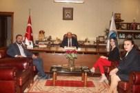 Amerikan Kültür'den Başkan Arslan'a Ziyaret
