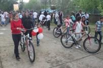 Cizre'de Öğrencilere 466 Adet Bisiklet Dağıtıldı