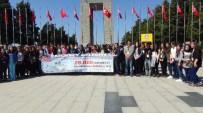 ÇANAKKALE ŞEHITLERI - Gaziantepli Öğrenciler Çanakkale'de Tarihe Yolculuk Yaptı