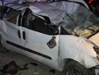 Manisa Turgutlu'da feci kaza: 1 ölü, 26 yaralı