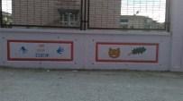 GÜMÜŞÇÜ - Öğretmen Adayları, Okul Duvarlarını Boyadı