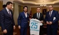 ZAFER ÖZ - Süper Lige Çıkan Termalspor'dan Vali Altıparmak'a Ziyaret
