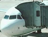 THY UÇAĞI - THY uçağı boşaltıldı!
