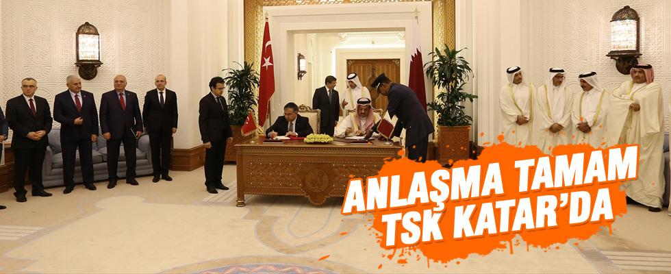 Türkiye ile Katar arasında askeri anlaşma