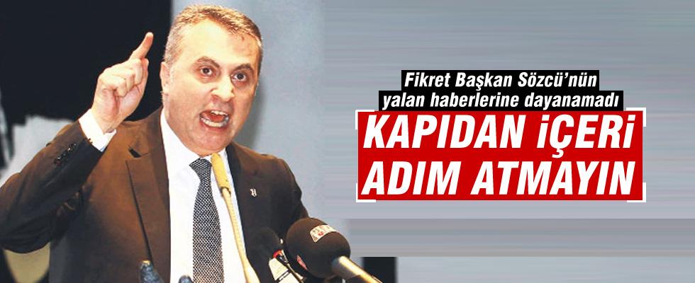 Beşiktaş'tan Sözcü'ye yasak