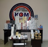 İzmir'de Kaçakçılara Operasyon Açıklaması 4 Gözaltı