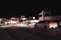 Yol Kenarındaki Kablolar Polisi Alarma Geçirdi