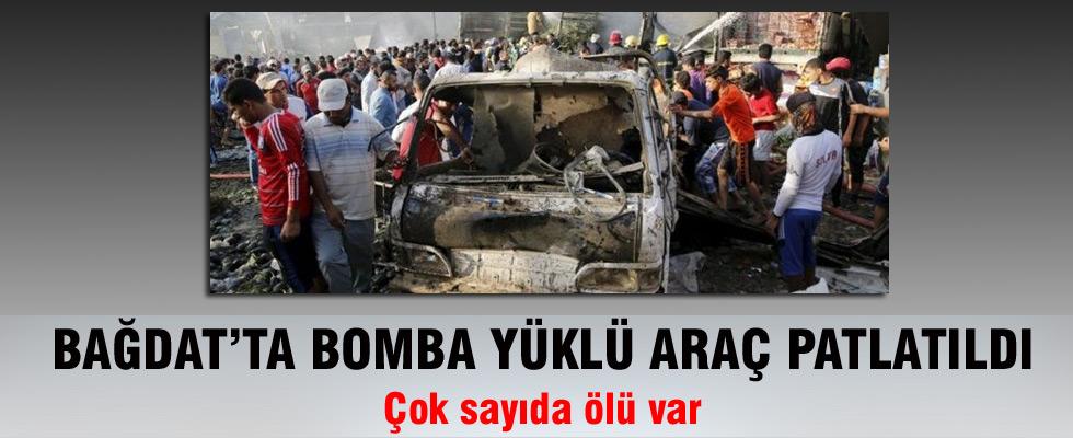 Bağdat'ta bomba yüklü araç patlatıldı: Çok sayıda ölü var