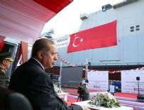 Erdoğan hücum gemisi töreninde konuştu