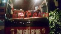 EYÜPSPOR - İnegölspor'un Takım Otobüsüne Saldırı