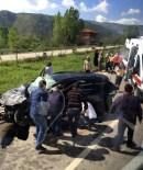 MUSTAFA CAN - Karabük'te Trafik Kazası  Açıklaması 2 Yaralı