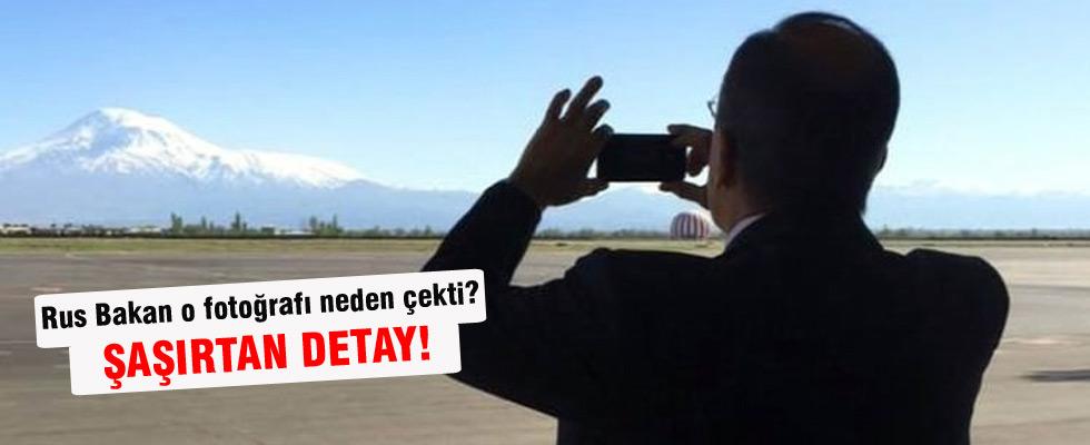Lavrov o fotoğrafı neden çekti?