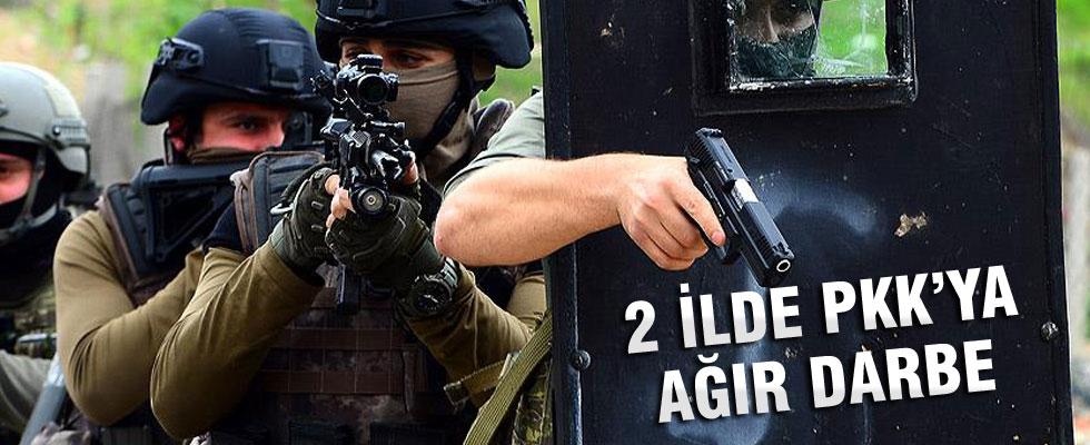 Mardin ve Şırnak'ta 8 terörist etkisiz hale getirildi
