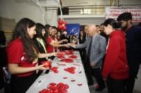 KADINLAR GÜNÜ - Başkan Altınok Öz, Burak Bora Anadolu Lisesi'nin Kan Bağışı Kampanyasına Katıldı
