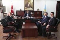 MAHMUT ÇELIKCAN - Birlik Vakfı'ndan Başkan Çelikcan'a Ziyaret