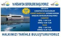 AKDAMAR ADASı - Van'da Deniz Otobüsleri Seferi 16 Nisan'da Başlıyor