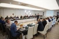 ÇELİK KAPI - Çelik Kapı Sektörü Yöneticileri İle ' Sektörel Kümelenme Ön Çalışma Toplantısı ' Gerçekleştirildi