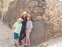 GWYNETH PALTROW - Çocuklarını Peru'ya götürdü