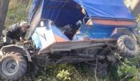 ALANKENT - Korgan'da Patpat Kazası Açıklaması 2 Yaralı