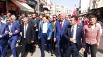 MEHMET NACAR - Meral Akşener, Kilis'te 'Başbakan Meral' Sloganlarıyla Karşılandı
