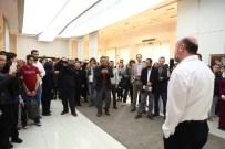 HÜSN-İ HAT SERGİSİ - Sanat Galerisinde 'Huzur' Hüsn-İ Hat' Sergisinin Açılışı Yapıldı